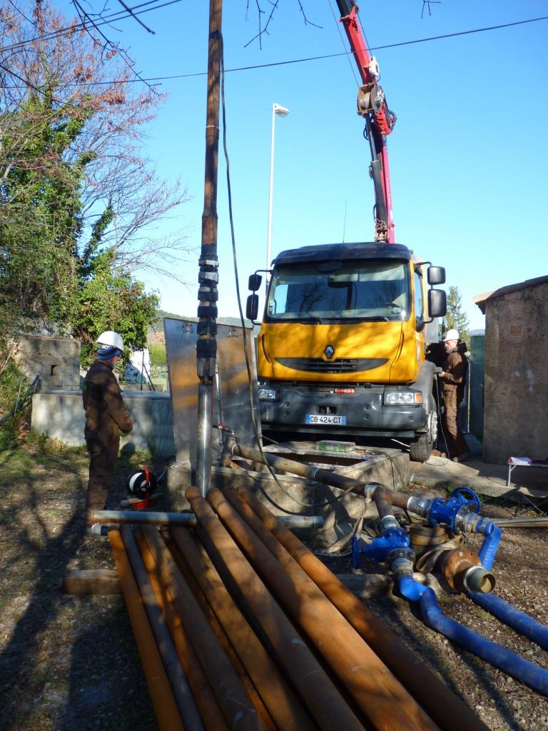 Installation de pompe1