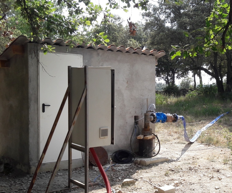 Installation de pompe3